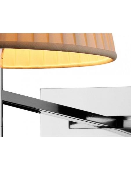 Zoom sur l'applique pour lampe Ktribe W en tissu de Philippe Starck pour Flos - Valente Design