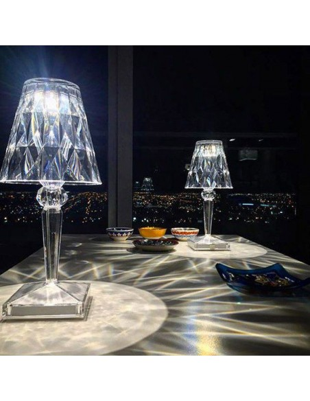 valente-design-lampe de table-kartell-battery-cristal-007