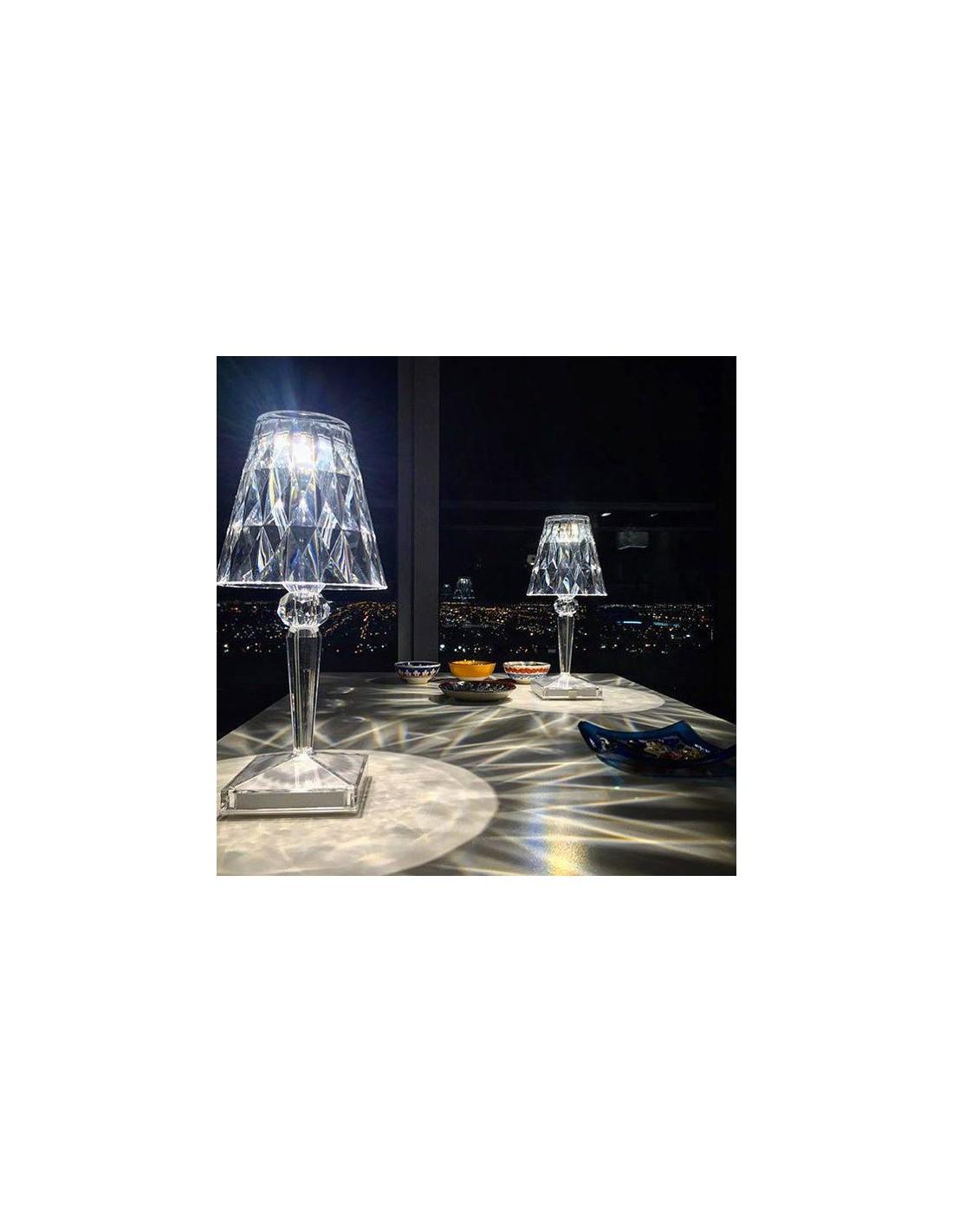lampe de table kartell battery cristal mise en sc ne pour la marque kartell. Black Bedroom Furniture Sets. Home Design Ideas