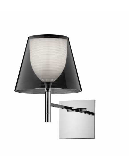 Applique pour lampe Ktribe W de couleur fumé de Philippe Starck pour Flos - Valente Design
