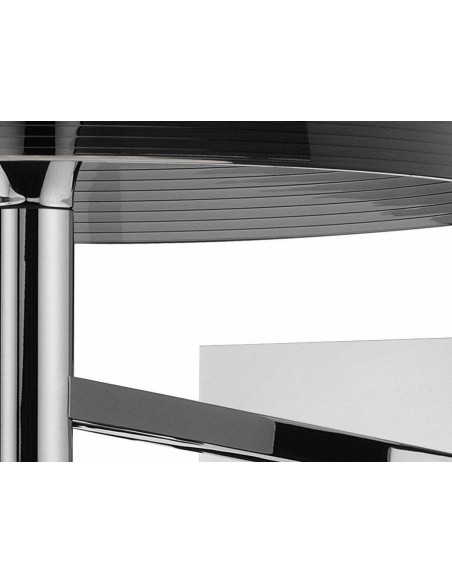 Zoom sur l'applique pour lampe Ktribe W de couleur fumé de Philippe Starck pour Flos - Valente Design