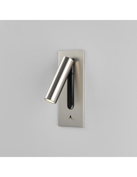Applique Fuse Switched LED Astro Lighting nickel mat - Valente Design