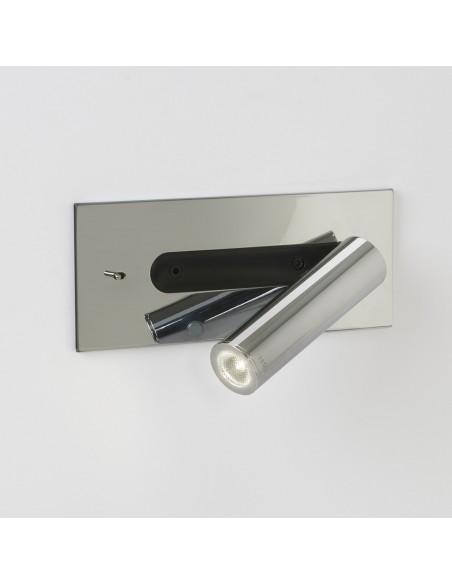 Applique Fuse Switched LEDdetails Astro Lighting chrome poli - Valente Design