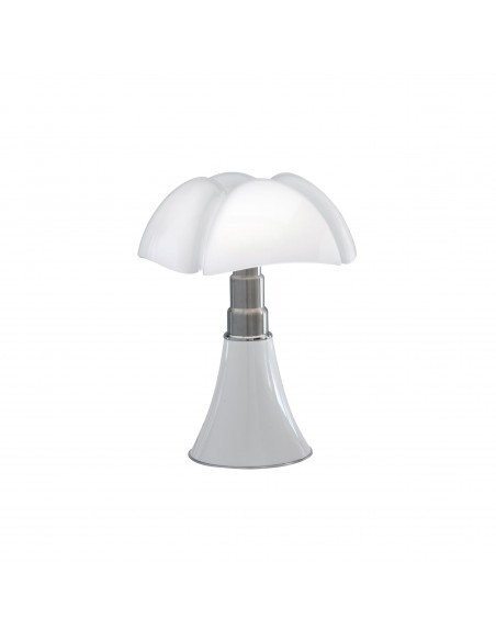 Lampe de table Mini pipistrello blanche vue d'ensemble