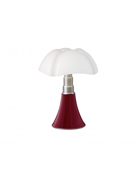 Lampe de table Mini pipistrello rouge pourprevue d'ensemble