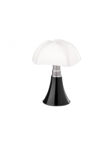 Lampe de table Minipipistrello titane - Martinelli Luce Valente Design Gae Aulenti