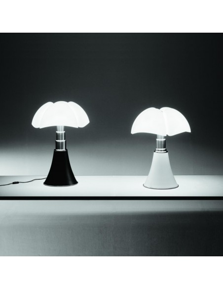 Lampe de table Mini pipistrello noir et blanc