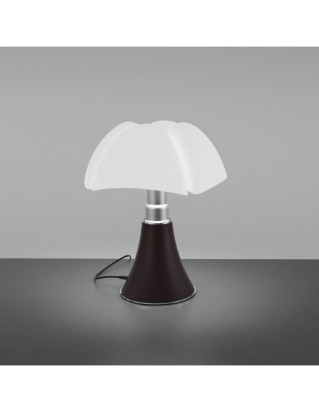 Lampe de table Minipipistrello LED sans fil noir vue d\'ensemble