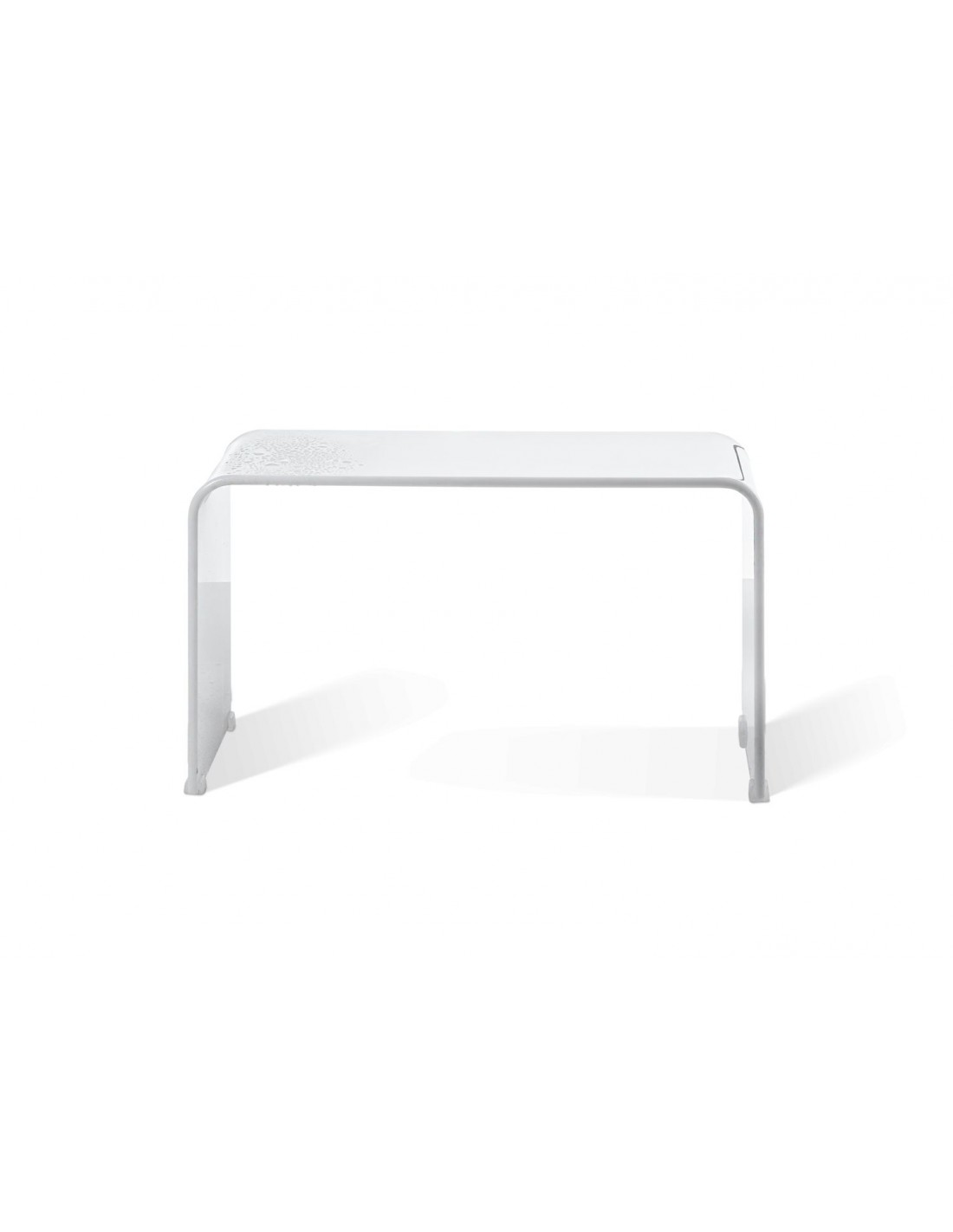 banc douche decor walther en acrylique blanc. Black Bedroom Furniture Sets. Home Design Ideas