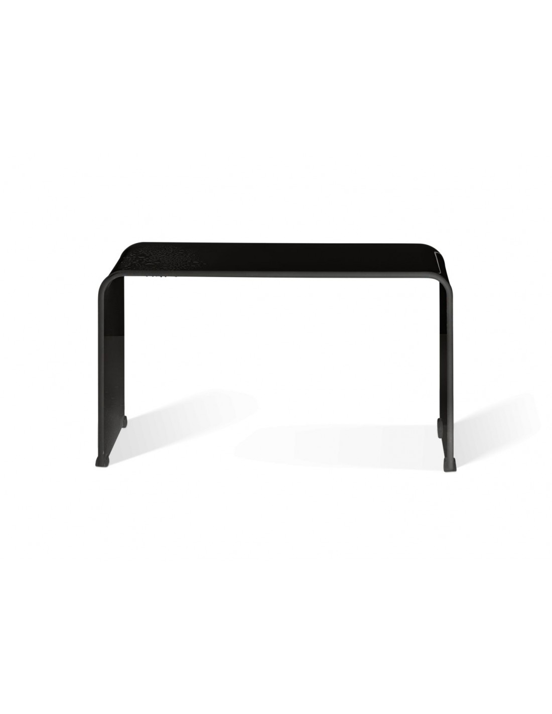 banc banc douche decor walther noir en acrylique. Black Bedroom Furniture Sets. Home Design Ideas