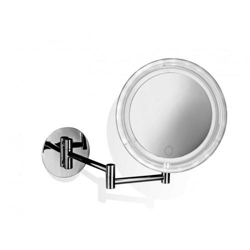 Miroir rond éclairant à suspendre à pile BS 16 TOUCH