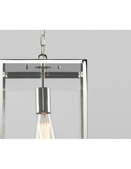 détails Suspension Homefield pendant 240 Inoxv Astro Lighting