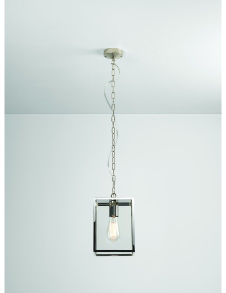 Suspension Homefield pendant 240 Inox astro lighting