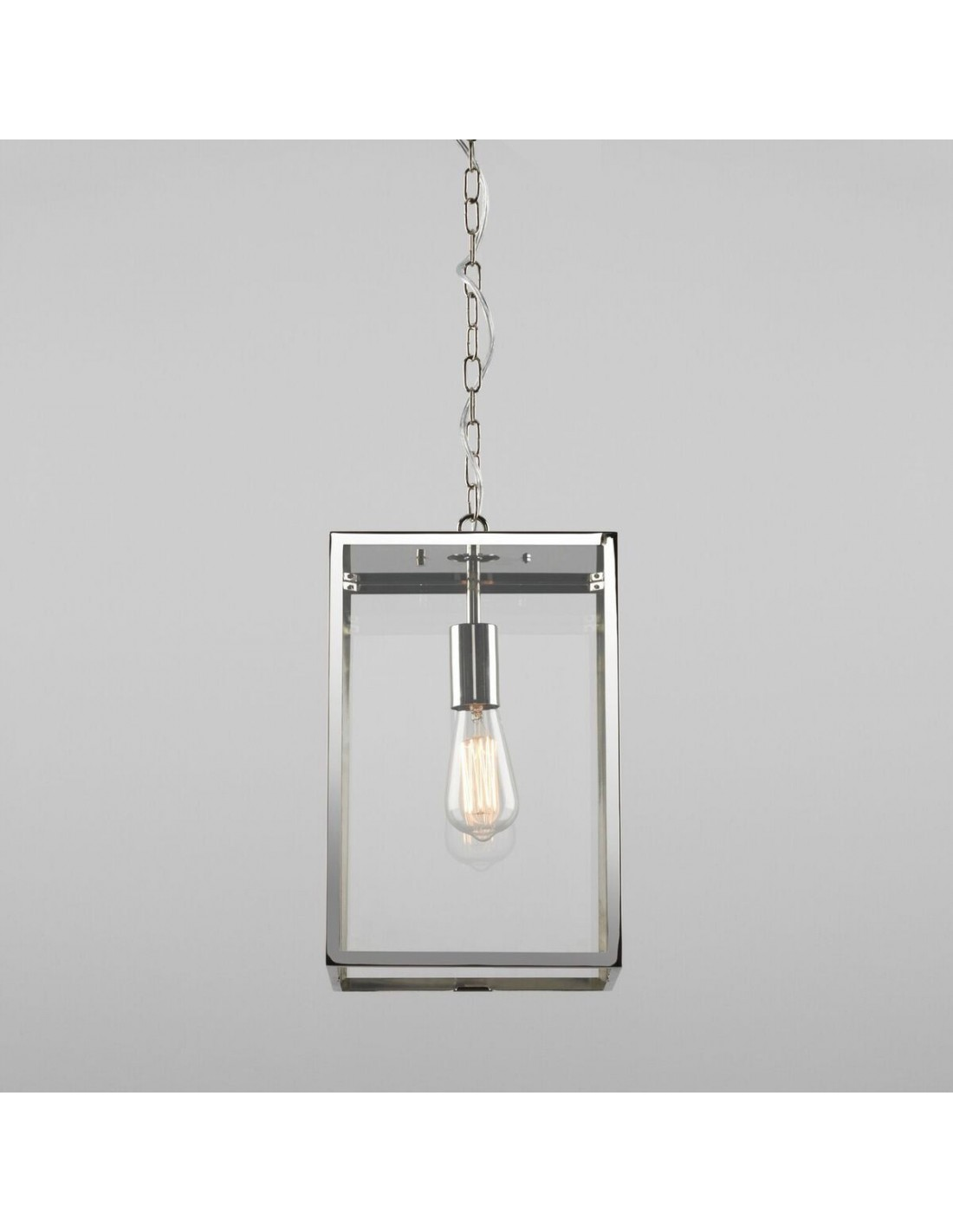 Suspension Homefield pendant 240 Inox détails Astro Lighting
