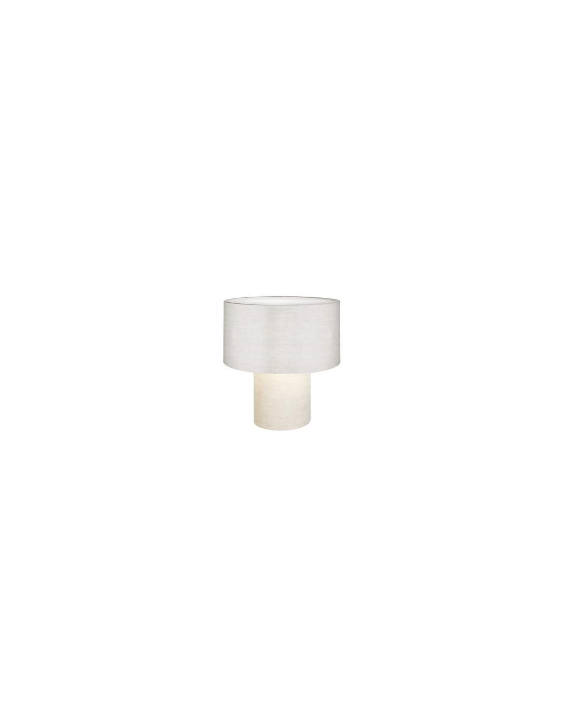 Lampe de table Pipe blanche Foscarini Diesel - Valente Design