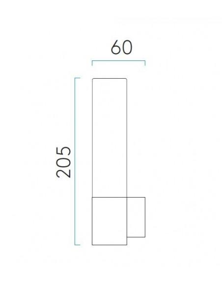 applique bari dimensions astro lighting