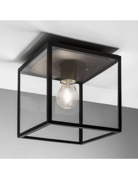 Plafonnier extérieur Box noir astro lighting
