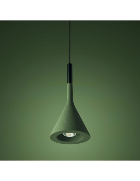 Suspension Aplomb LED foscarini vert