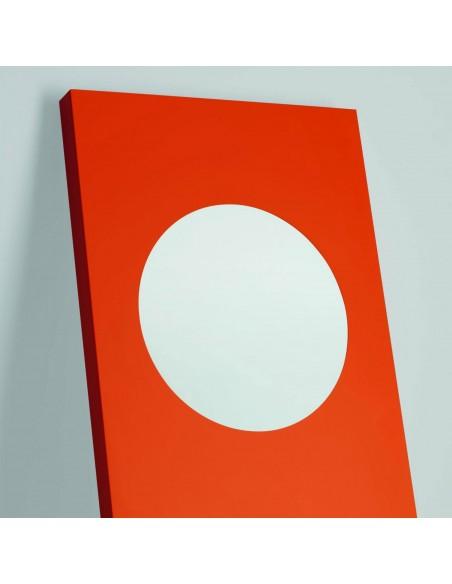 Valente design luminaires Lampadaire Dolmen rouge detail