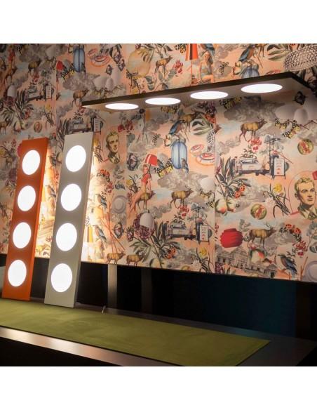 Valente design luminaires Lampadaire Dolmen mise en scène