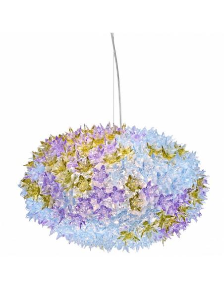 Suspension Bloom Ovale (ø 53 cm) coloris lavande pour la marque Kartell