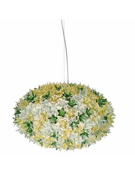 Suspension Bloom Ovale (ø 53 cm) coloris menthe pour la marque Kartell