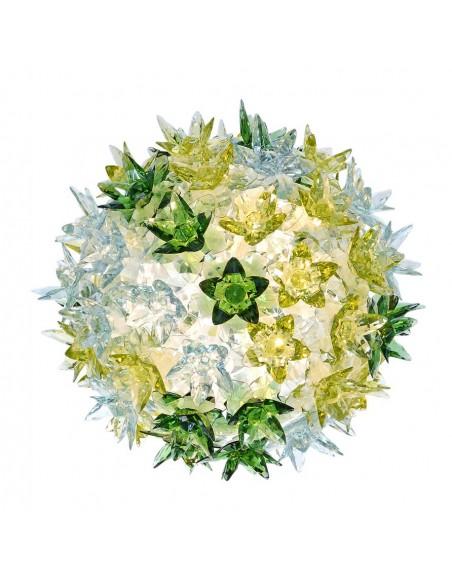 Applique / Plafonnier Bloom Ovale Ø 28 cm multicolore menthe pour la marque Kartell