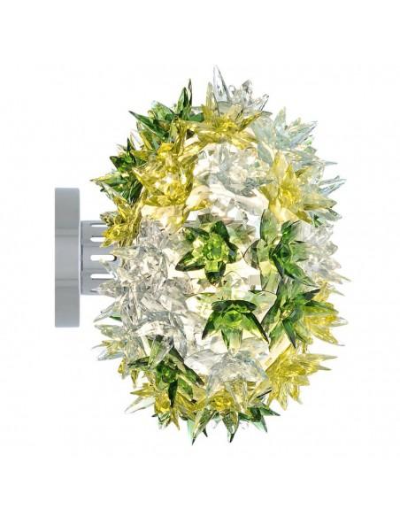 Applique / Plafonnier Bloom Ovale Ø 28 cm multicolore menthe profil pour la marque Kartell