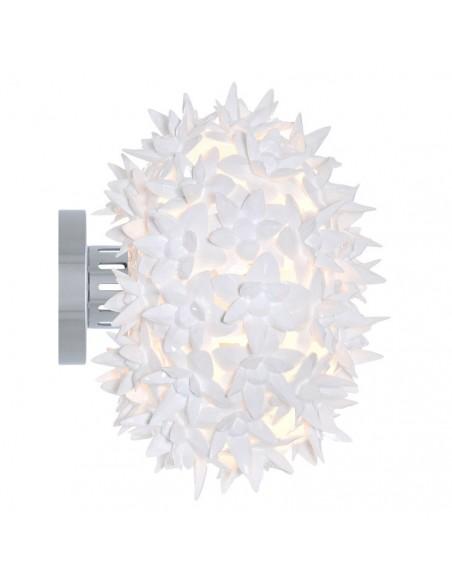 Applique / Plafonnier Bloom Ovale Ø 28 cm transparente pour la marque Kartell