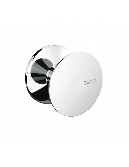 Valente design bains patère Diabolo chrome par Bath+