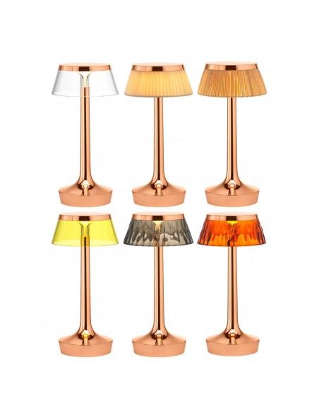 lampe sans fil bon jour cuivre collection de flos - Philippe Starck - Valente Design