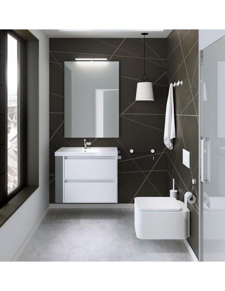 Valente design bains patère Diabolo mise en situation par Bath+