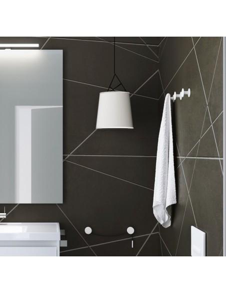 Valente design bains patère Diabolo porte serviette par Bath+