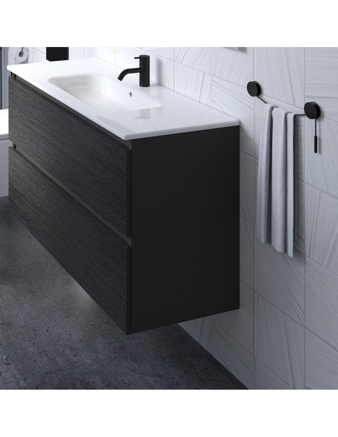 accessoires-bain-porte-serviette-chrome par Bath+