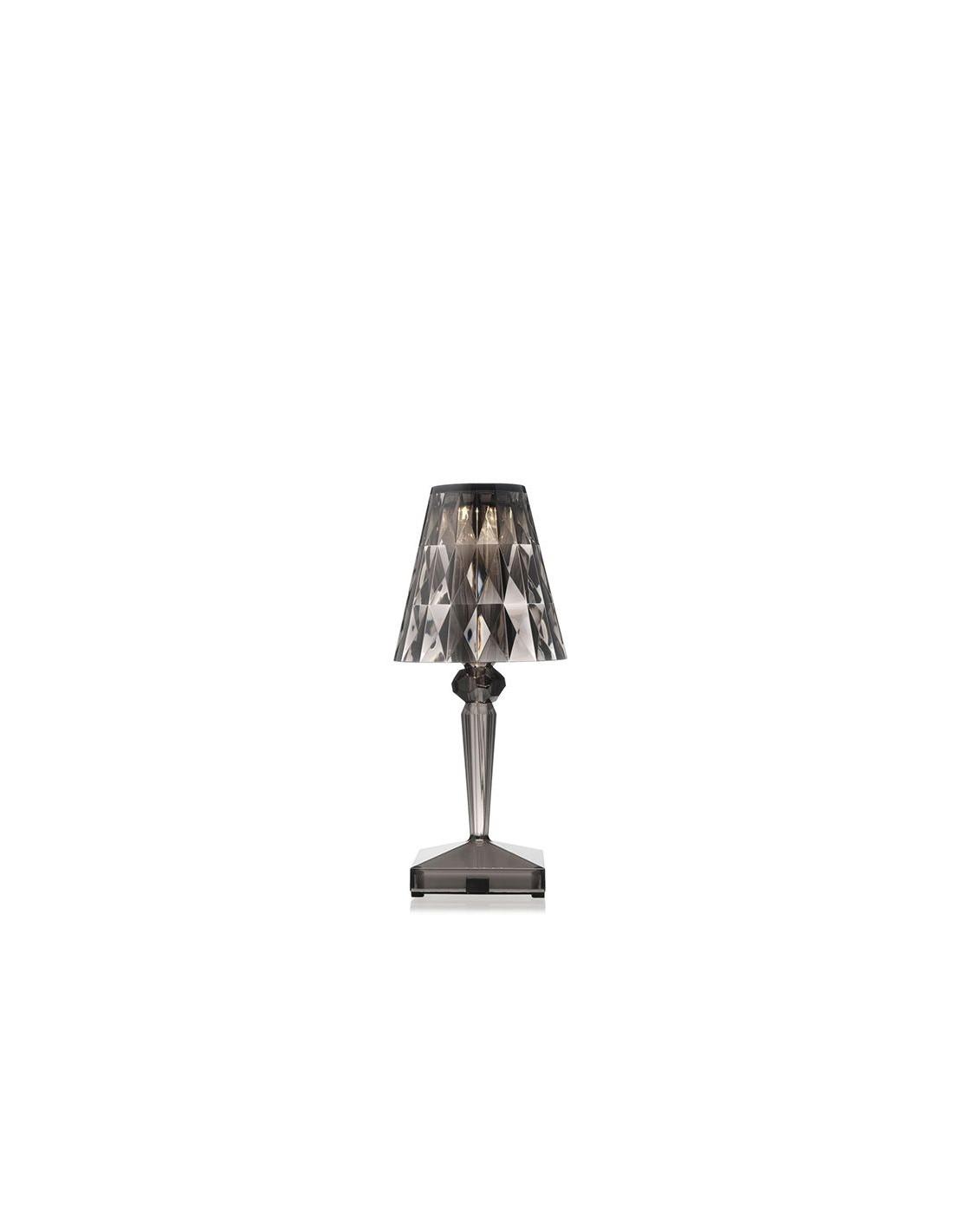 Lampe de table sans fil battery fume pour la marque kartell - Lampe de salon sans fil ...