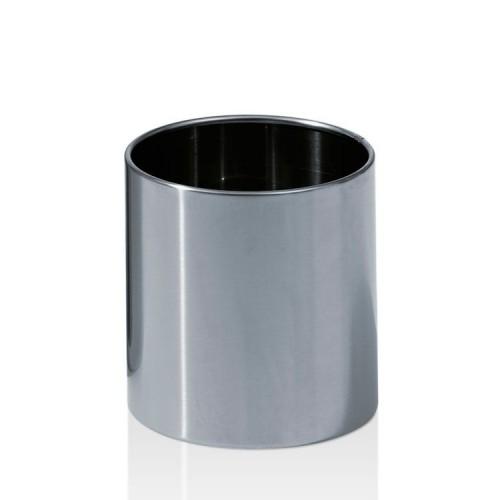 Poubelle ronde petit modèle en acier