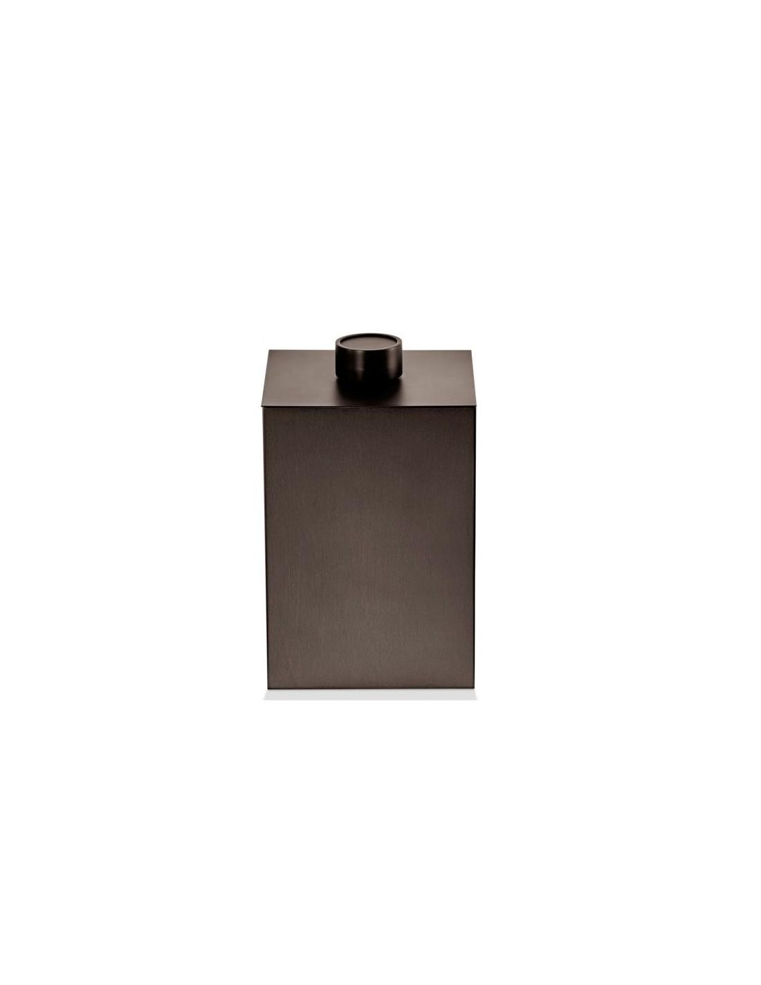 DW 76 valente design decor walther poubelle dark bronze