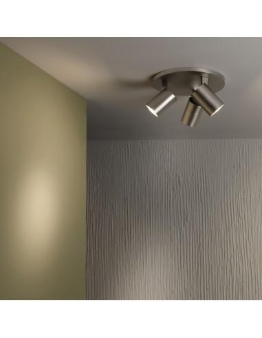 Plafonnier ascoli triple round astro lighting valente design
