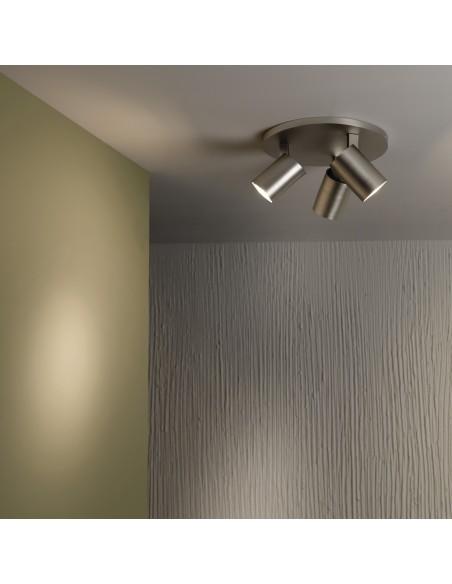 ascoli triple round valente design plafonnier tripleround astro lighting nickel mat