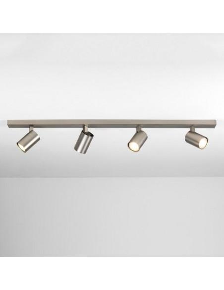 Plafonnier ascoli 4 bar nickel mat astro lighting - valente design
