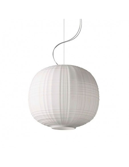 Suspension Tartan Foscarini blanche