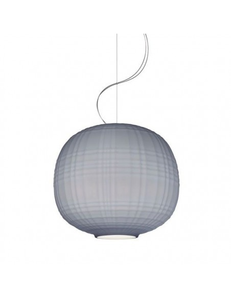 Suspension Tartan Foscarini gris