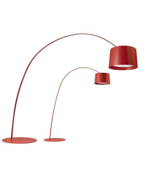 Lampadaire Twice as Twiggy rouge