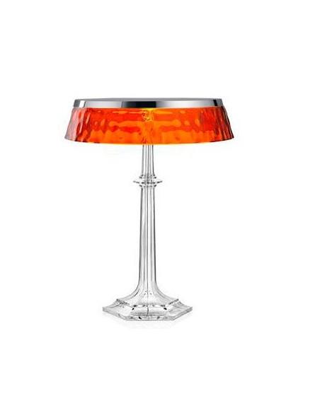 Lampe Bon Jour Versailles Baccarat Flos chrome transparent ambre situation de flos