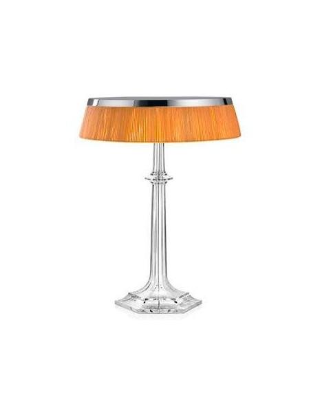 Lampe Bon Jour Versailles Baccarat Flos chrome rotin situation de flos