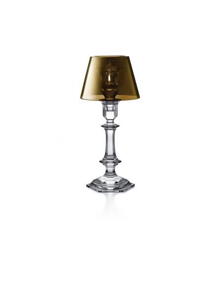 Lampe à poser Harcourt Our Fire Bougeoir de couleur or de Philippe Starck pour la marque Baccarat - Valente Design