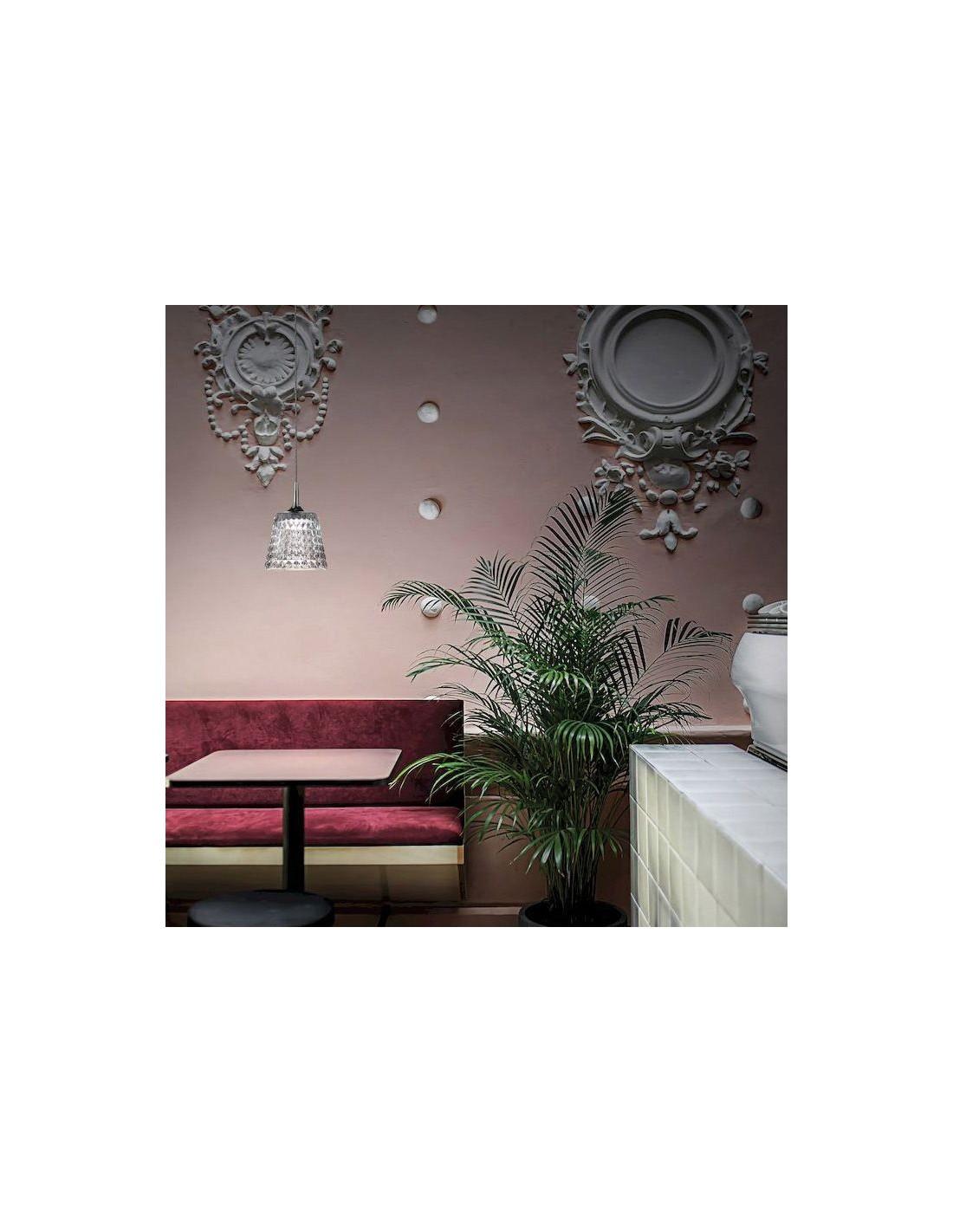 Suspension Valentina  ambiance salon de thé de Studio Italia Design