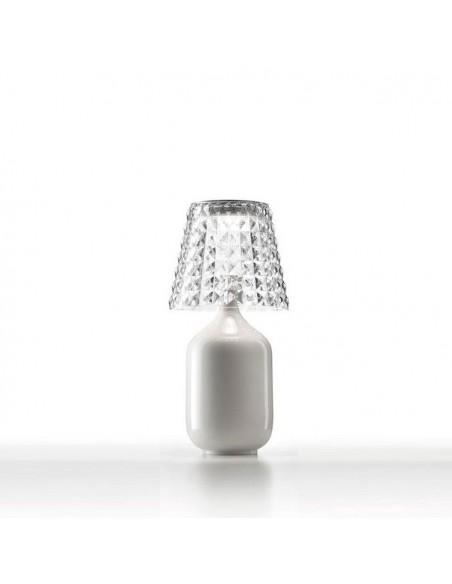 Lampe à poser Valentina blanche de Studio Italia Design