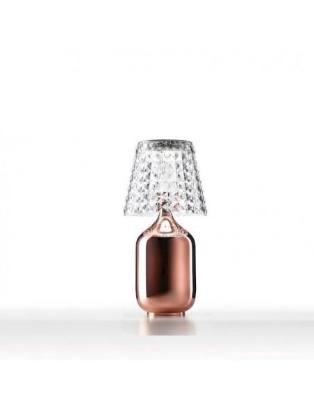 vue d\'ensemble Lampe à poser Valentina cuivré  de Studio Italia Design