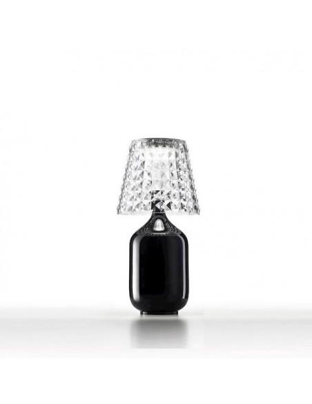 Lampe à poser Valentina noire vue d'ensemble  de Studio Italia Design
